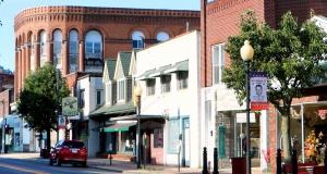 Image of Jefferson Avenue in Moundsville